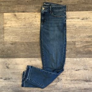 Eddie Bauer skinny jeans in brilliant blue